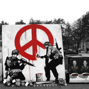 Banksy - Parliament Square 3 by Panorama London