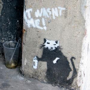 Banksy - Penton Street (Colour) by Panorama London