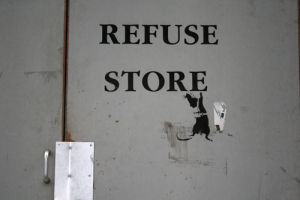 Banksy - Refuse Store by Panorama London