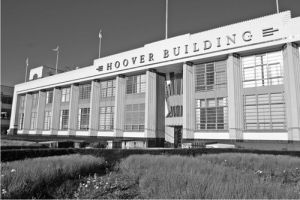 Hoover Building (B&W) by Panorama London