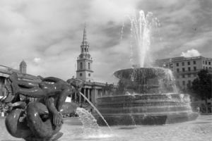Trafalgar Square by Panorama London