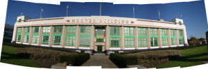 Hoover Building Collage by Panorama London