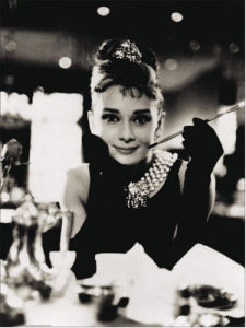 Audrey Hepburn by Anonymous