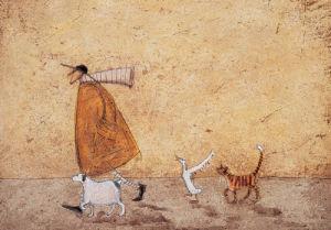 Ernest, Doris, Horace And Stripes by Sam Toft