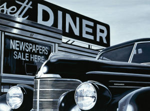 Massachusetts Diner by Alain Bertrand