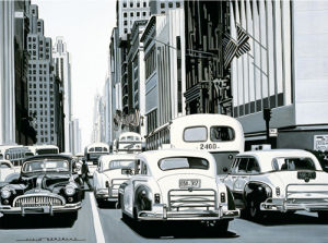 Heavy Traffic by Alain Bertrand