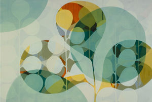 Opaque Layer Study I by Sarah Leslie