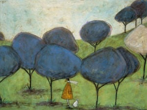 Sniffing The Lilac by Sam Toft