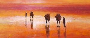 Camels, Chalbi Desert, Kenya by Jonathan Sanders
