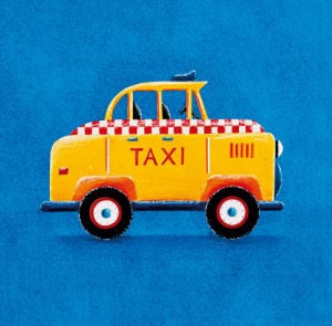 Yellow Taxi by Simon Hart