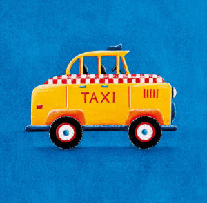 Yellow Taxi by Simon Hart