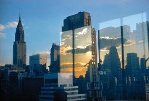 Skyline, New York, 1957 by Ernst Haas