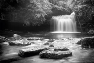 West Burton Falls, Yorkshire by Rod Edwards