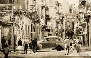 Havana Street, Cuba by Lee Frost