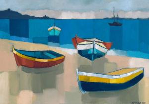 Devon Seascape by Sarah Batt