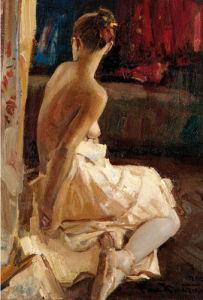 Kristina Makhviladze by Vasily Bratanyuk