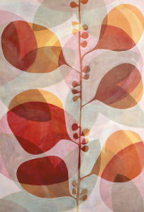 Red and Yellow Berries by Sarah Leslie