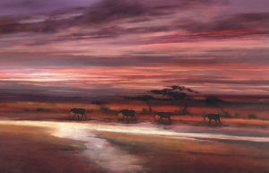 Four Elephants by Jonathan Sanders