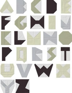 Alphabet Blocks by Trent Siddharta