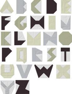 Alphabet Blocks by Trent Siddharta