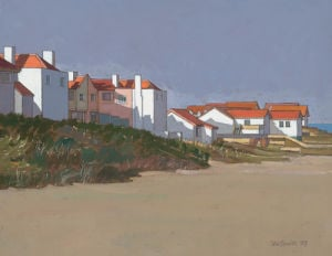 Beach Houses, Thorpness by John Sprakes