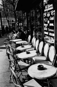 Parisian Café by Joseph Squillante