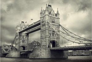 Tower Bridge by James Lazos