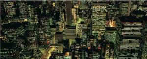 Manhattan Night by Richard Berenholtz
