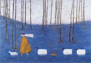 Tiptoe Through The Bluebells by Sam Toft
