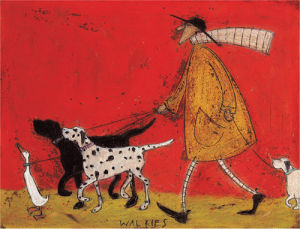 Walkies by Sam Toft