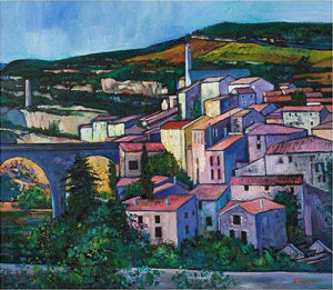 Evening Sunlight, MInerve by Davy Brown
