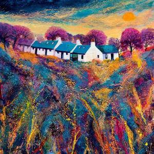 Catterline in Summer by Kathleen Buchan