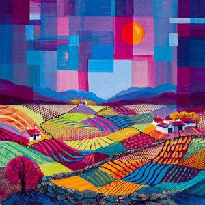Bountiful Fields by Kathleen Buchan