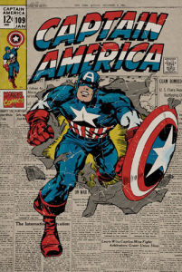 Captain America - Retro by Marvel Studios