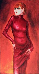 Portrait of the Dancer Anita Berber by Otto Dix