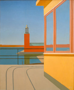 Outside the Central Palace 1933 by Torsten Jovinge