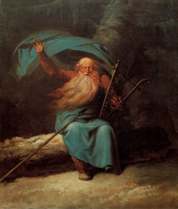 Ossian sings his swan song 1785 by Nicolai Abraham Abildgaard