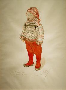 Matts Larsson 1911 by Carl Larsson