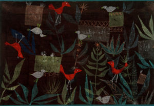 Vogelgarten (Bird Garden), 1924 by Paul Klee