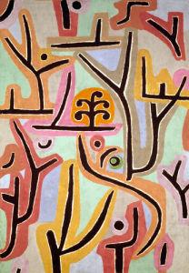 Park near Lu 1938 by Paul Klee