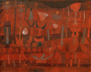 Indian Flower Garden 1922 by Paul Klee