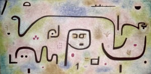 Insula dulcamara 1938 by Paul Klee