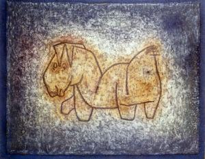 Bastard 1929 by Paul Klee