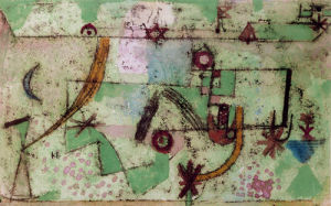 Im Bach'schen Stil (In the Manner of Bach), 1919 by Paul Klee