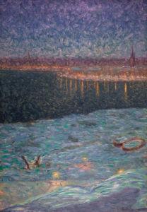 Moonlit night 1896 by Eugene Fredrik Jannson