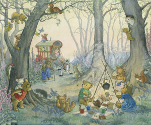 Teddy Bear Camp by Molly Brett