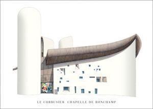 Chapelle de Ronchamp by Le Corbusier
