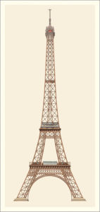 Paris, Tour Eiffel by Anonymous