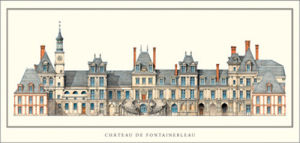 Chateau de Fontainebleau by Anonymous