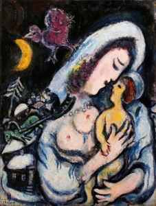 Motherhood by Marc Chagall